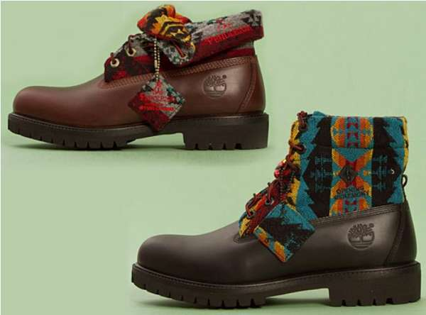 Native Roll-Top Boots
