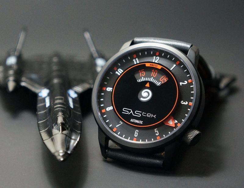 Speedometer-Inspired Timepieces