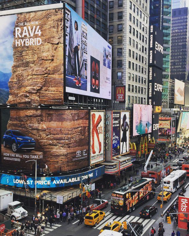 Rock Wall Billboards