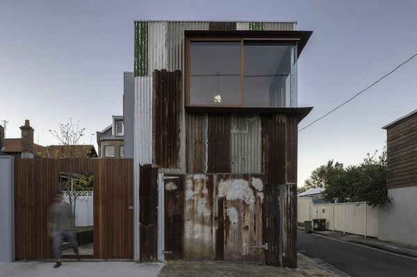 Eclectic Tin Shed Homes