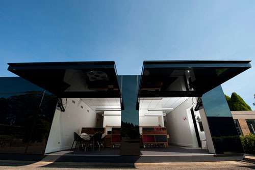 Tina Tziallas Architecture Studio 'Black Box Office'