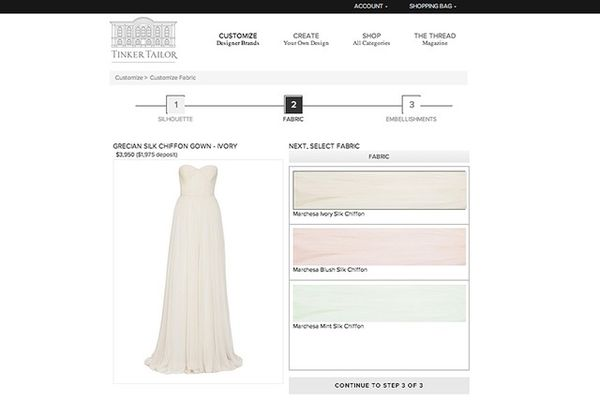 Individually Customized Designer Gowns