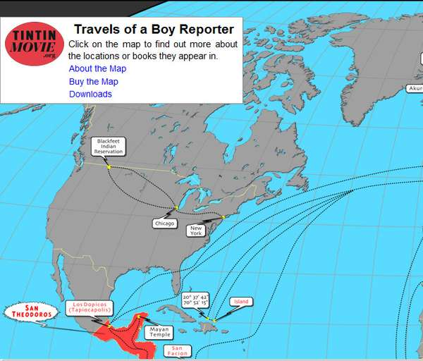 Tracking Fictional Travels