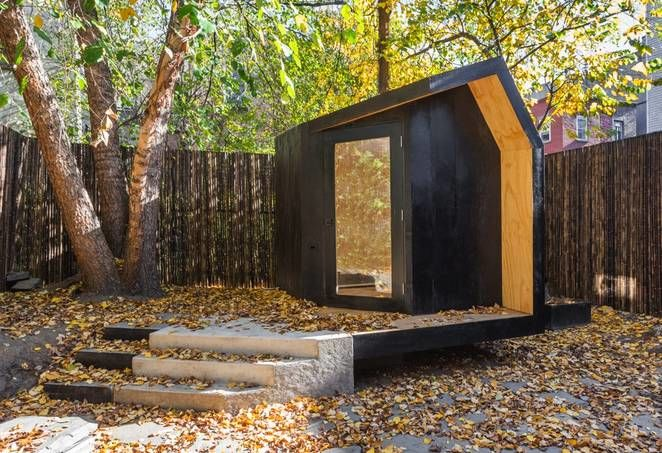 Tranquil Writing Pavilions Tiny Backyard Studio