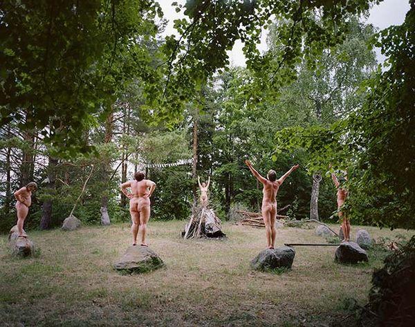 Nostalgic Surreal Village Photography