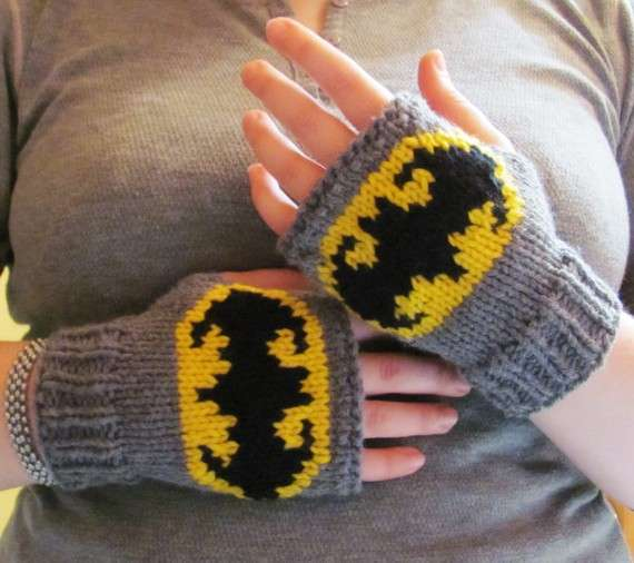 Fingerless Superhero Gloves