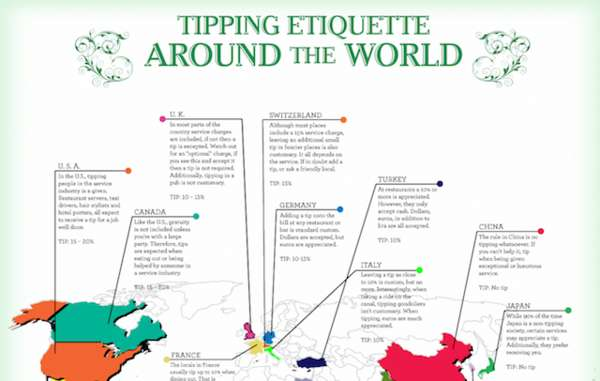 Global Dining Protocol Maps