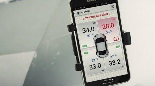 Bluetooth Tire Pressure Monitors