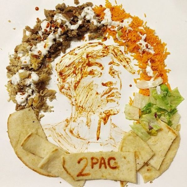 Pop Culture Food Art