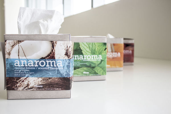 Scented Tissue Box Packaging