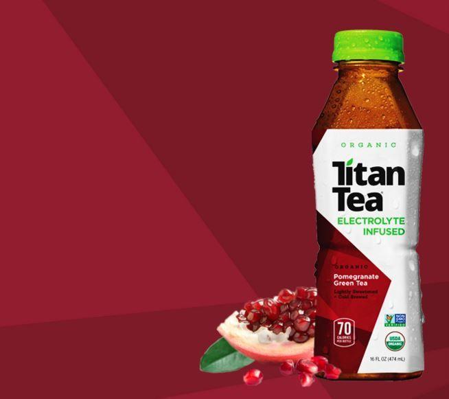 Electrolyte-Enriched Teas