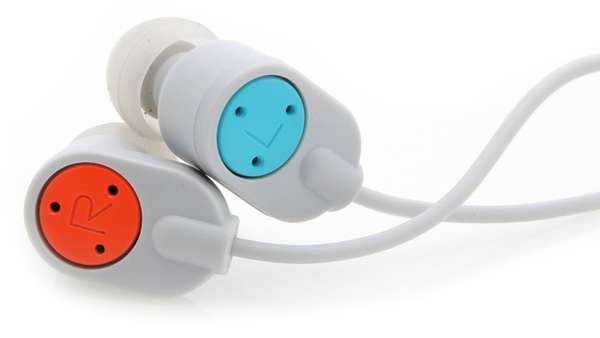 Simplistic Primary Earphones
