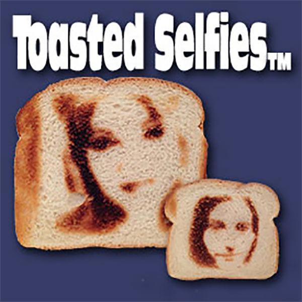 Selfie-Printed Toast