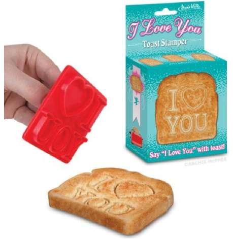 Romantic Breakfast Toast Tools