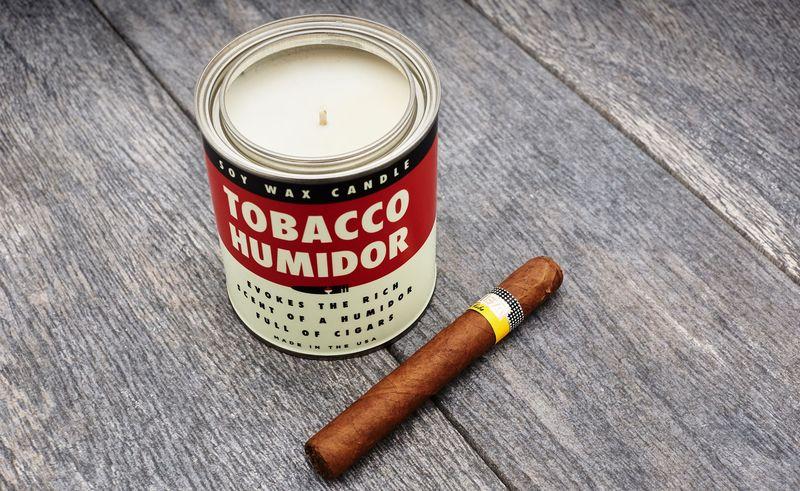 Smoky Cigar Humidor Candles