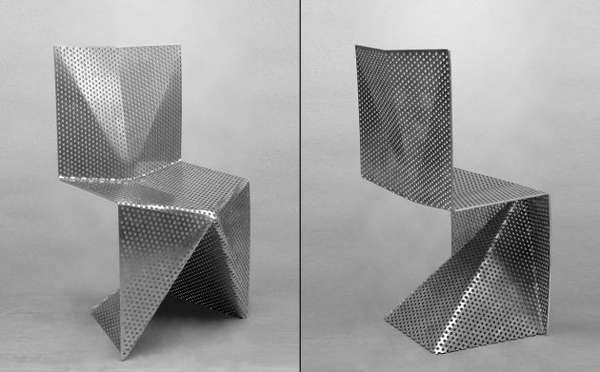Perforated Metal Seating