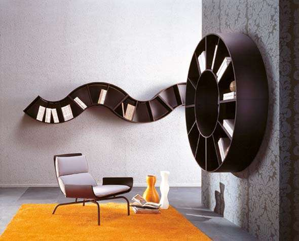 Movie-Reel Shelving