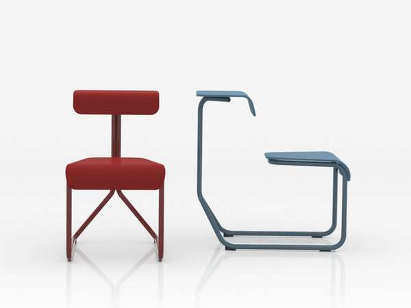 Sled-Inspired Seating