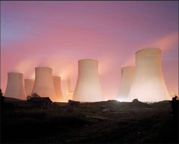 Illuminated Industrial Photography
