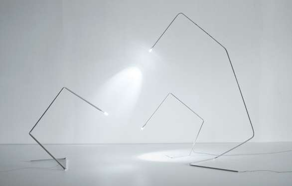 todd bracher stick lamps