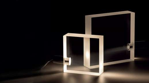 Clear Square Block Lighting
