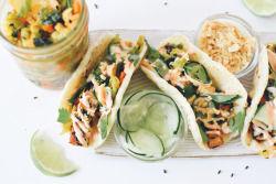 Vegetarian Tofu Tacos