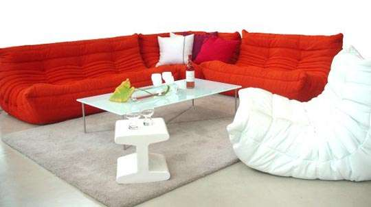 Designer Look Alike Furnishings Togo Sofa Knock Off