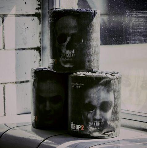Terrifying Toilet Paper