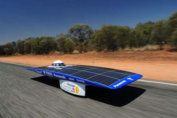 Solar-Powered Race Cars