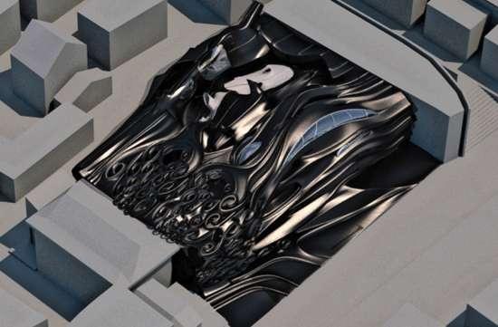 Molten Metal Morphitecture