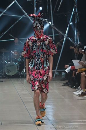 Exaggerated Graphic Couture