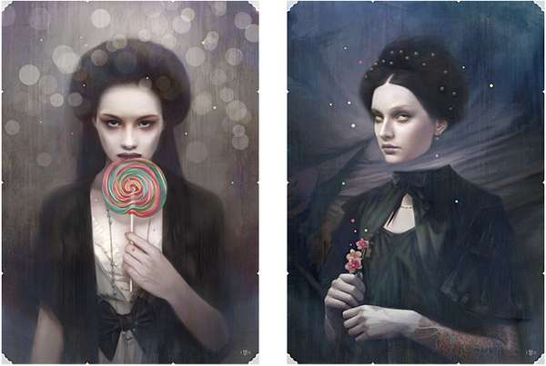 Creepy Candy Illustrations