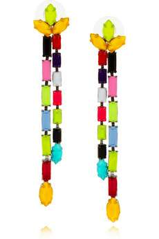 Chromatic Linked Earrings