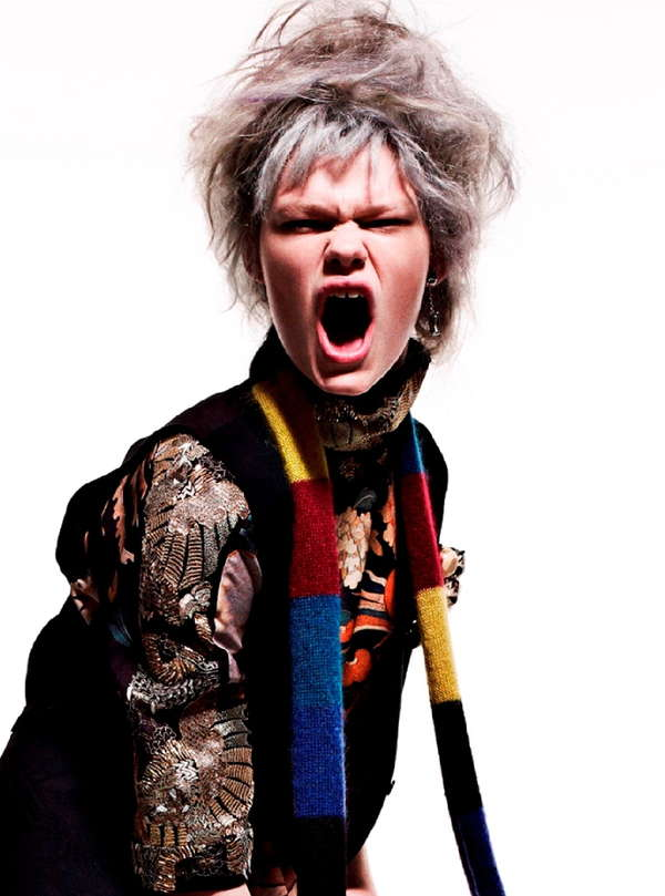 Aggressive Fashion Editorials