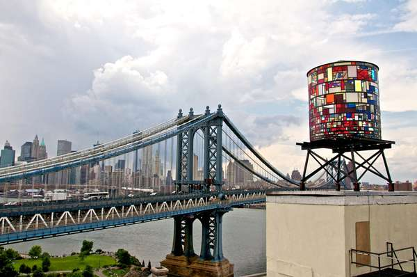 Kaleidoscopic Water Towers