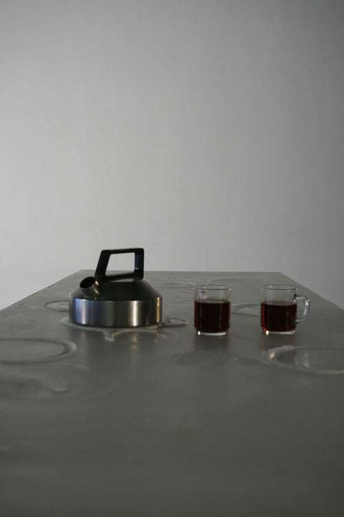 Minimalist Melting Furniture