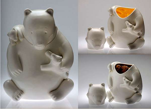 Bear Cookie Containers