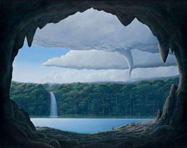 Paradise Landscape Paintings