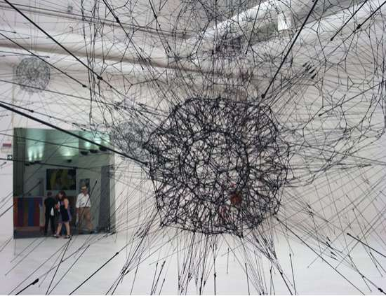 Cobweb Sculptures