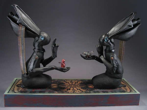 Surreal Animalistic Sculptures