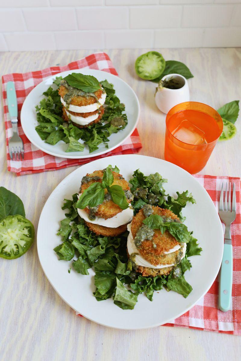 Fried Tomato Salads