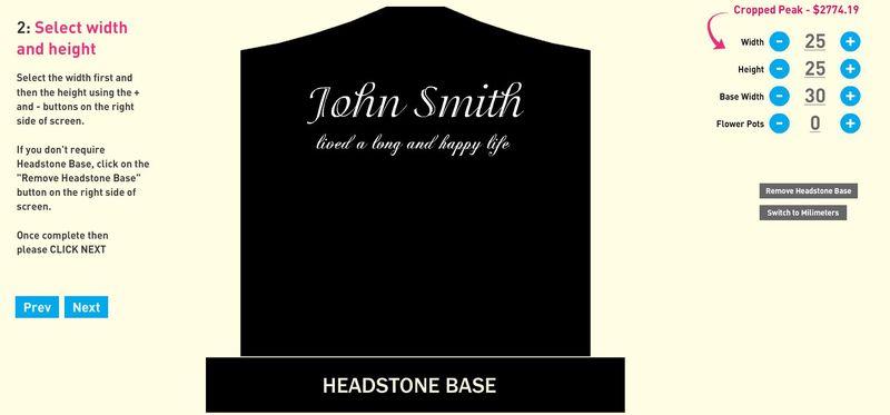 Virtual Tombstone Designers