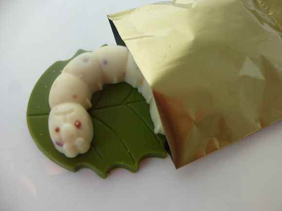 Worm-Shaped Chocolates