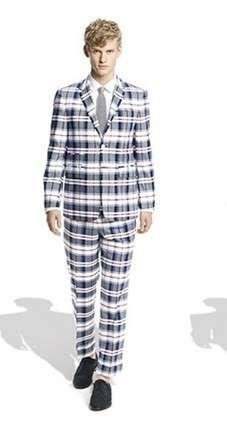 Preppy Plaid Suits