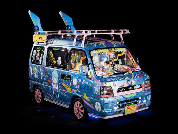 Anime-Inspired Automobiles