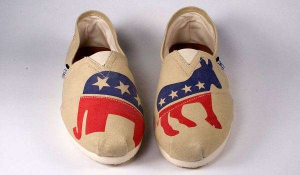 Election-Savvy Slip-Ons