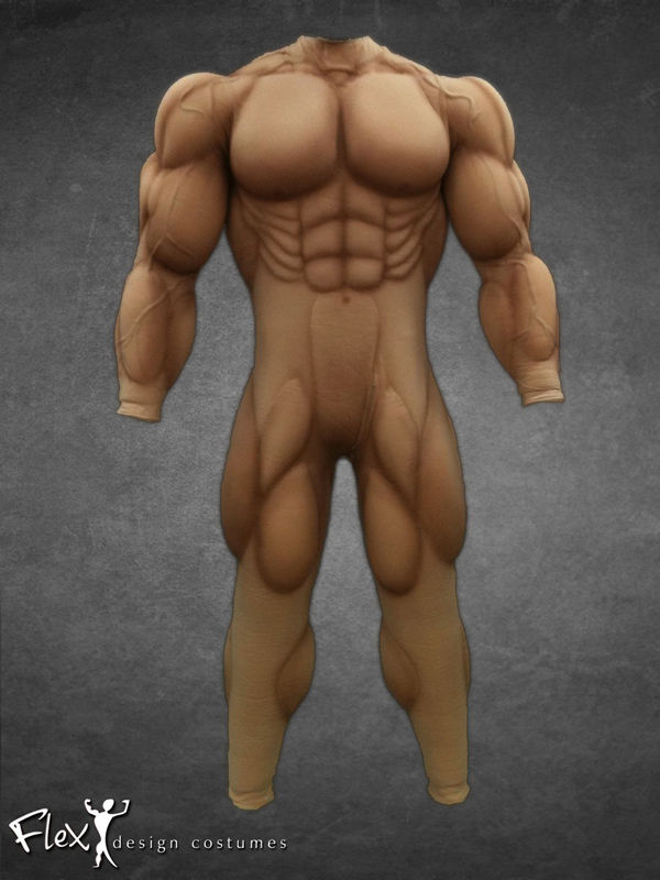muscular body suits : toned body, Muscles