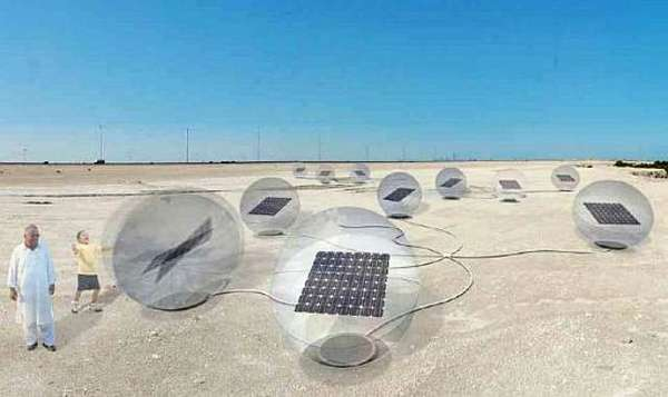 Power-Generating Beach Toys
