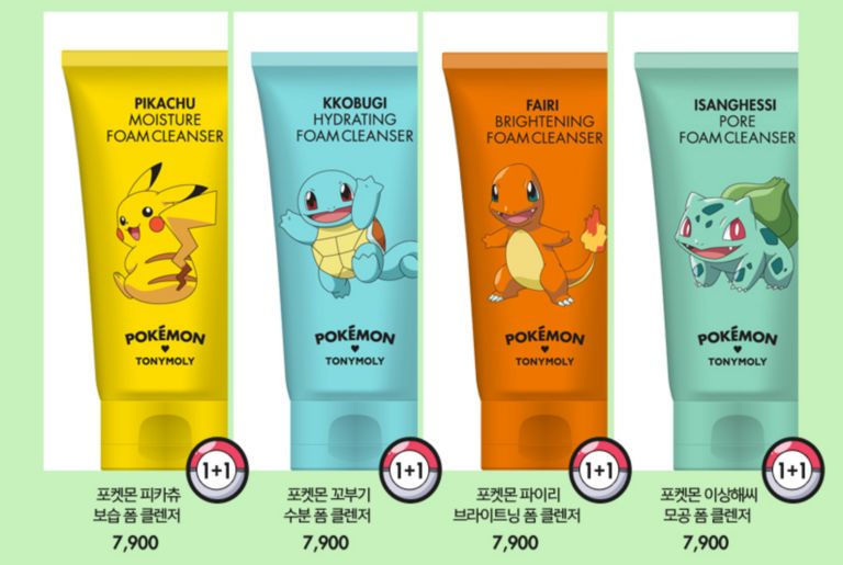 Anime-Themed Cosmetic Products
