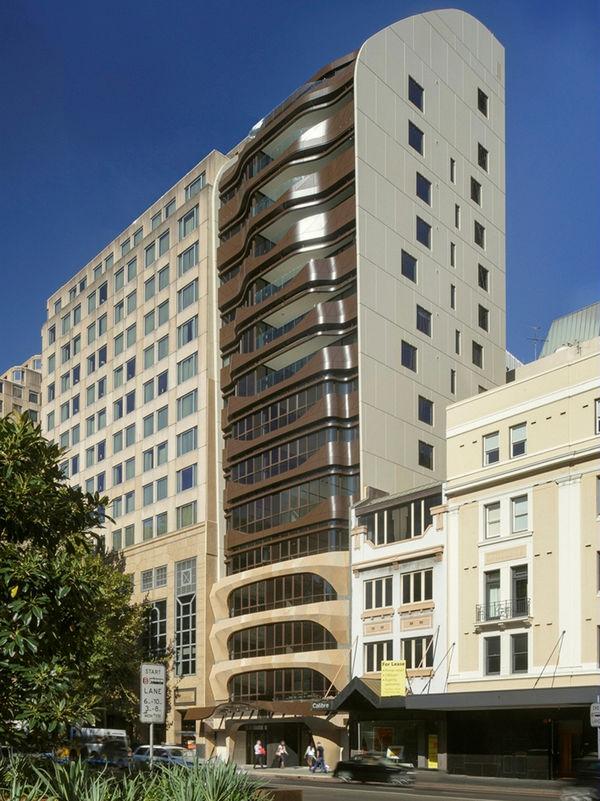 Warped Balcony Apartments